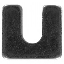 "1-5/16"" x 1-1/8"" Body Shim - 1/8"" Thickness, 3/8"" slot"