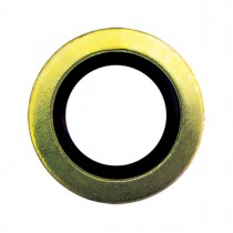 "17/32"" I.D. Rubber/Metal Drain Plug Gasket"