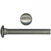 """10"""" - 24 x 1/2"""" 18.8 Stainless Steel Carriage Bolt - UNC"""