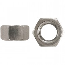 """1 1/2""""-6 18.8 Stainless Steel Finished Hex Nut-UNC"""