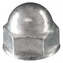 10 - 32 18.8 Stainless Steel Acorn Nut - UNF