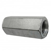 "1/4""-20 18.8 Stainless Steel Coupling Nut"