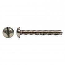 "10-32 x 1 3/4"" 18.8 Stainless Steel Round Hd Slot Machine Screw"