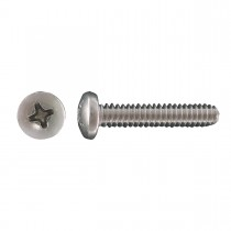 "4-40 x 1/8"" 18.8 Stainless Steel Pan Head Phillips Machine Screw"