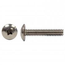 "10-32 x 1"" 18.8 Stainless Steel Truss Hd Phillips Machine Screw"