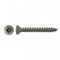 "10 x 3"" 18.8 Stainless Steel Oval Hd Square Tapping Screw"