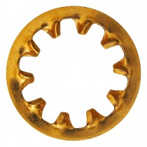 "10 (3/16"") Phosphor Bronze Internal Tooth Lock Washers"