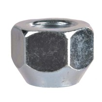 "7/16""-20 Regular - 3/4"" Hex, 9/16"" Length Wheel Nut"