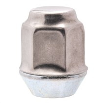 "7/16""-20 Dometop Capped - 3/4"" Hex, 1-1/8"" Length Wheel Nut"