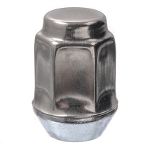 "1/2""-20 Dometop Capped - 3/4"" Hex, 1-5/16"" Length Wheel Nut"