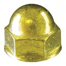 10 - 32 Brass Acorn Nut - UNF