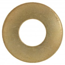 "3/8"" x 7/8"" OD  Brass Flat Washer"