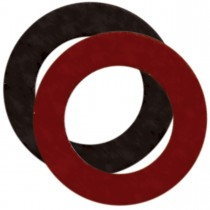 Red & Black Polyester Post & Side Battery Terminal Protectors
