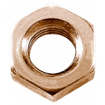 M10-1.00 Class 8  Extra Fine Metric Hex Nut-DIN 934-Red Zinc Plated