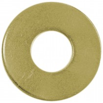 M6 Metric Flat Washers-Yellow Zinc Dichromate Plated