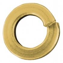 M4 Metric Lock Washers-Yellow Zinc Dichromate Plated