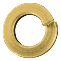 M18 Metric Lock Washers-Yellow Zinc Dichromate Plated