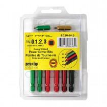 14 Piece Colour Power Driver Bit Kit