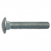 """1/2"""" x 9"""" Carriage Bolt - Hot Dipped Galvanized - UNC"""