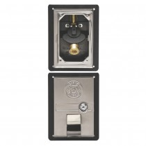 Recessed Stainless Steel Gas Outlet Box has a lock