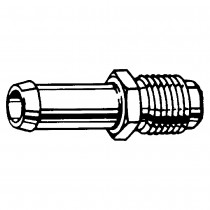 "5/16"" x 1/4"" Male Inverted Connector"