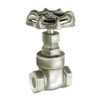 """3/8"""" Gate Valve 150 W.O.G. Non-Shock (Water, Oil, Gas) Female Pipe to Pipe"""
