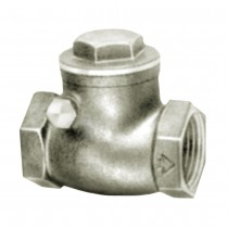 """3/4"""" Swing Check Valve with Bleeder 200 W.O.G. Non-Shock Female Pipe to Pipe"""