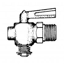 "1/4"" Drain Cock Plug Type Leaver Handle"