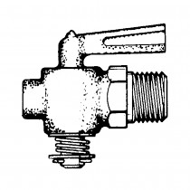 "1/2"" Drain Cock Plug Type Leaver Handle"