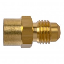 "5/8"" x 3/4"" Flare Connector - Tube to Female Pipe"