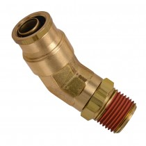"1/4"" x 1/4"" Swivel Male Elbow 45°"