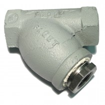 """1-1/2"""" Screwed End Y Strainer with Reducing Bushing"""