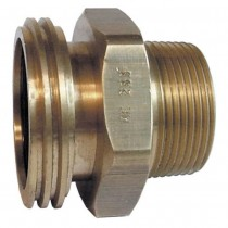 "2-1/4"" x 1-1/2"" Brass Adaptor"