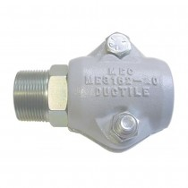 """1"""" HB x 1"""" MNPT with 2-piece Clamp Coupling"""