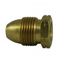 "M. POL x 1/2"" FNPT Brass Single Piece Adapter"