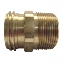 "1-1/4"" x 3/8"" Brass Adaptor"
