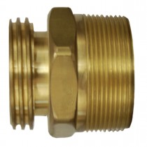 "2-1/4"" x 1-1/4"" Brass Adaptor"