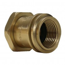 "1-5/16"" x 1/4"" Brass Adaptor"