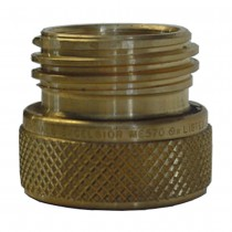 "1-3/4"" x 1-3/4"" Brass Filler Hose Adaptor"