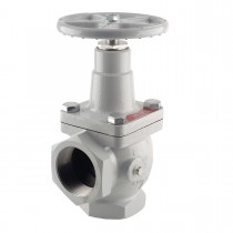 """1-1/4"""" FNPT Fisher LP Gas & NH Angle Valve"""