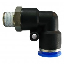 Push to Connect Male Swivel Elbow 90°