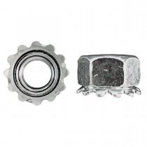 10-32 Keps Lock Nut-Zinc Plated