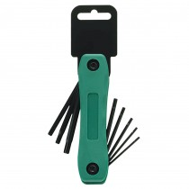 T8, T9, T10, T15, T20, T25, T30, T40 Security Folding Plastic Socket Key Sets